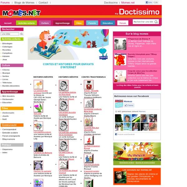 Momes.net - Contes et histoires pour enfants