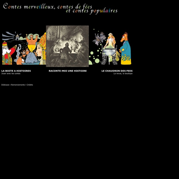 Contes merveilleux Contes de fées Contes populaires