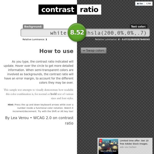 Contrast-Ratio