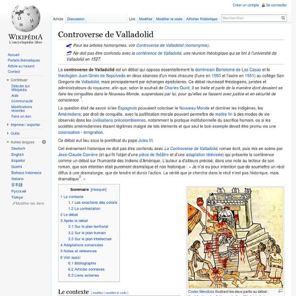 Controverse de Valladolid