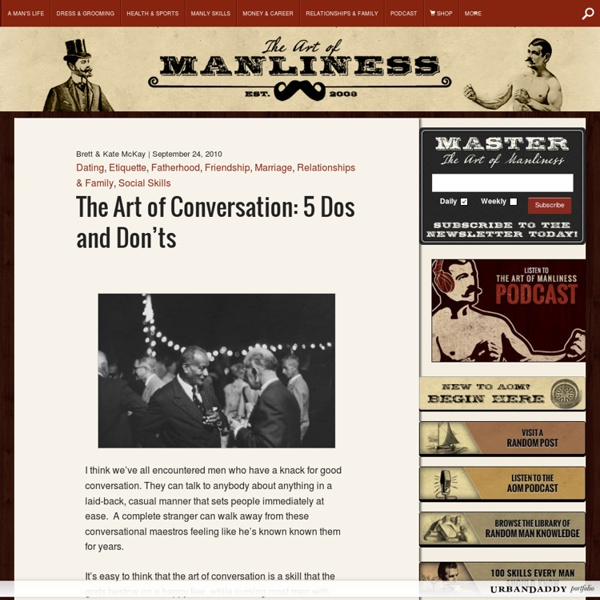 Conversation Etiquette: 5 Dos and Don'ts