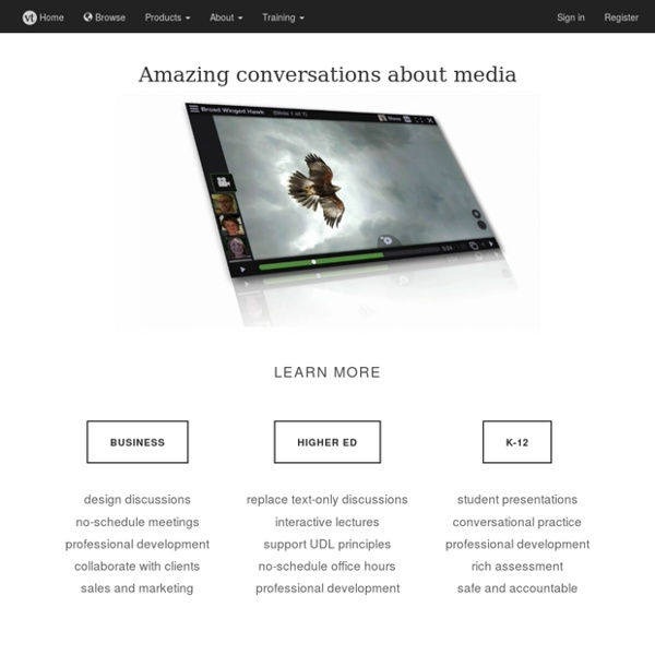 VoiceThread - Conversations in the cloud