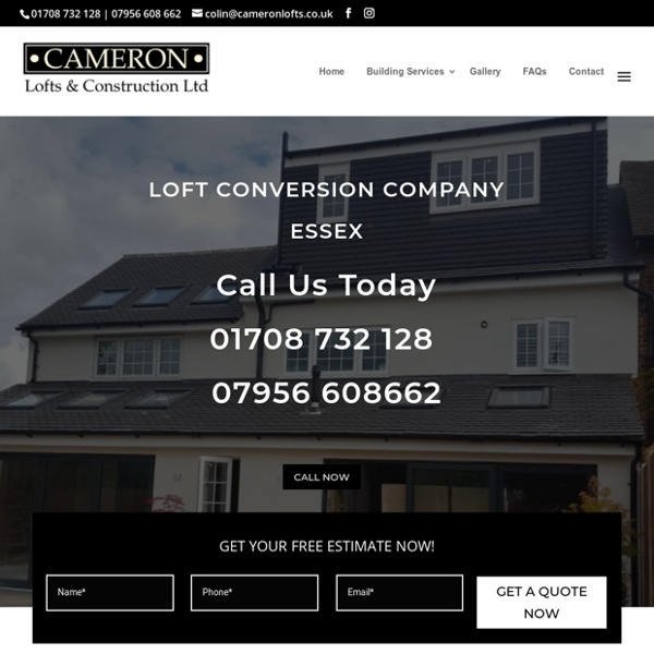 Loft Conversion Company Essex - Cameron Lofts & Construction Ltd 01708 732128