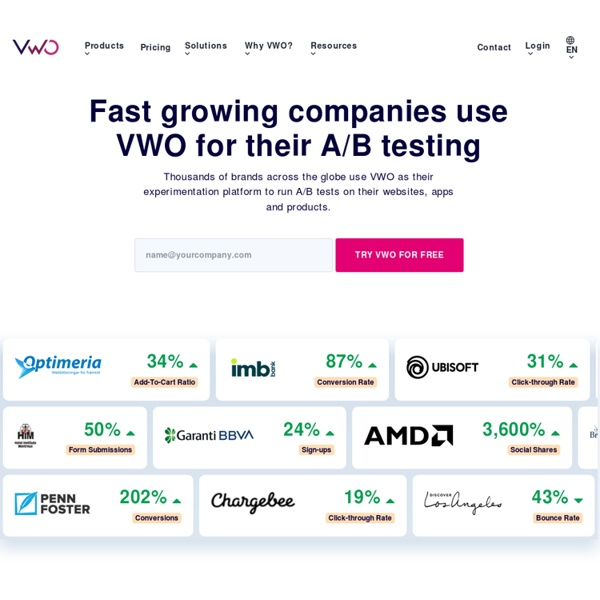 A/B Testing Tool and Split Testing Software - Visual Website Optimizer