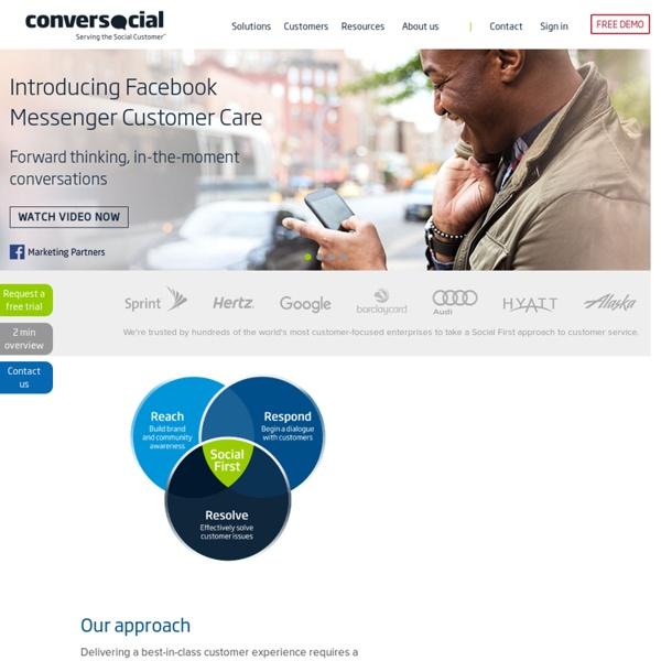 Conversocial Social Customer Service