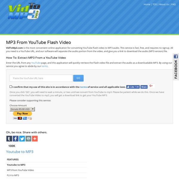 Convert Youtube to MP3 & Download Youtube Videos - Free Downloader | Pearltrees