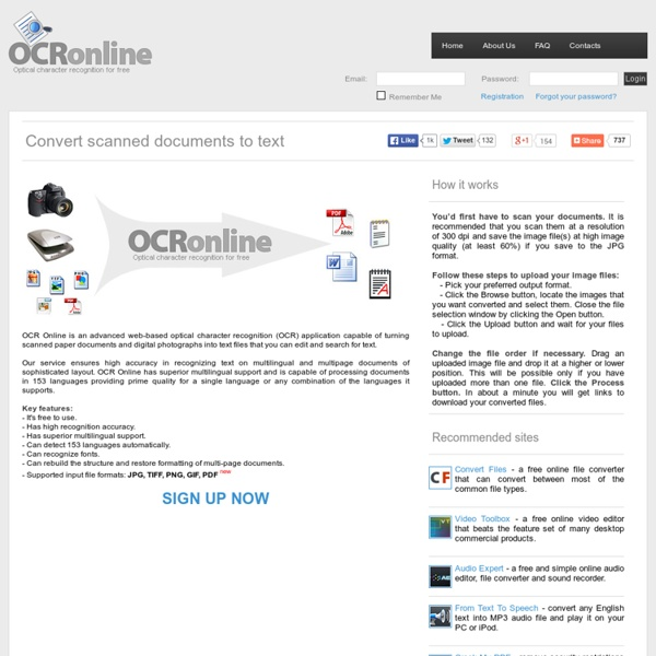 OCR Online - Free Image To Text Converter PDF Or DOC