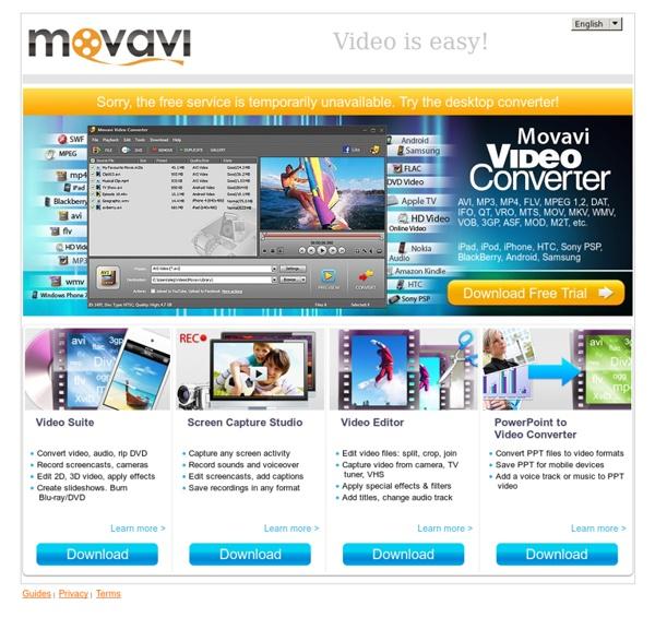 Free Video Converter: Convert Videos Online
