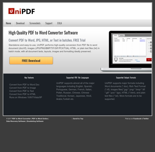 FREE PDF to Word Converter Software to Convert PDF to Word Doc