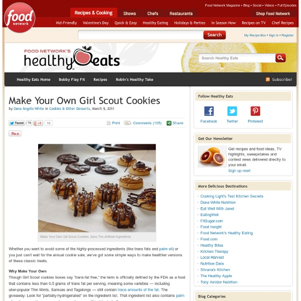 Make Your Own Girl Scout Cookies