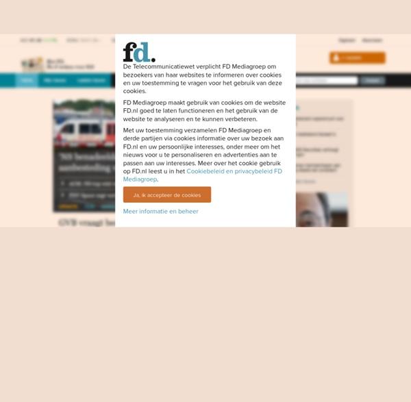 Home fd.nl - Het Financieele Dagblad