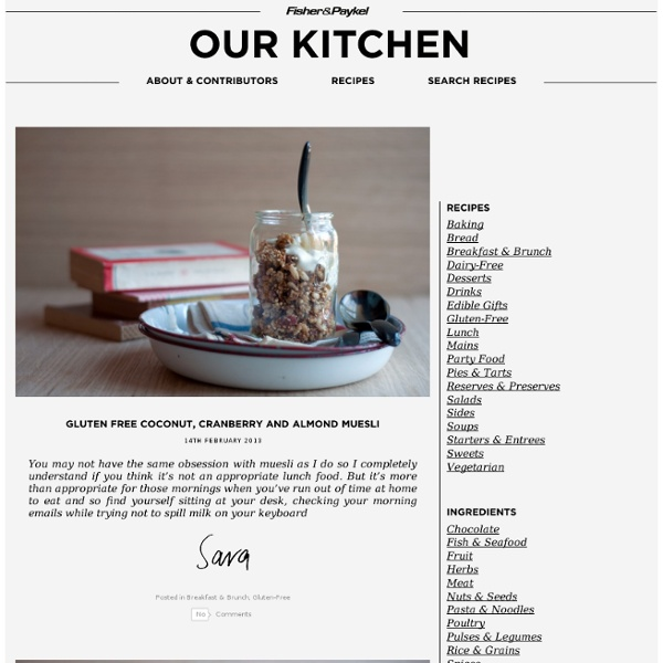 Cooking Blog – Find the best recipes, cooking and food tips at Our Kitchen.