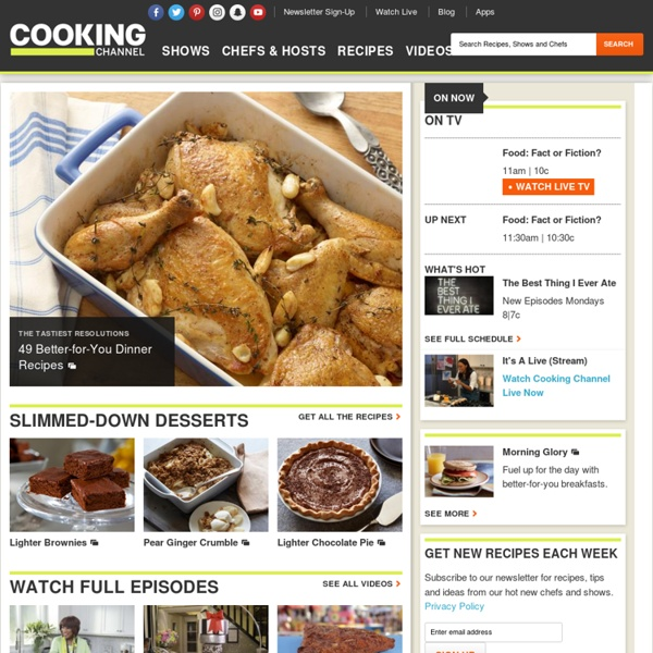 Cooking Channel - Recipes, Shows and Cooking Videos from Top Global Chefs : Cooking Channel
