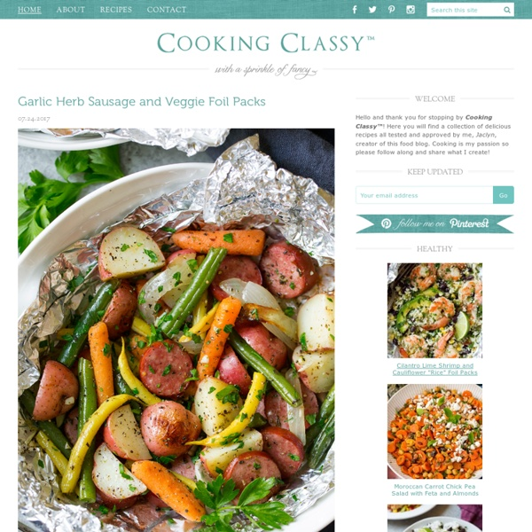Cooking Classy - with a sprinkle of fancy