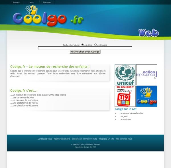 Coolgo.fr - Le moteur de recherche des enfants !