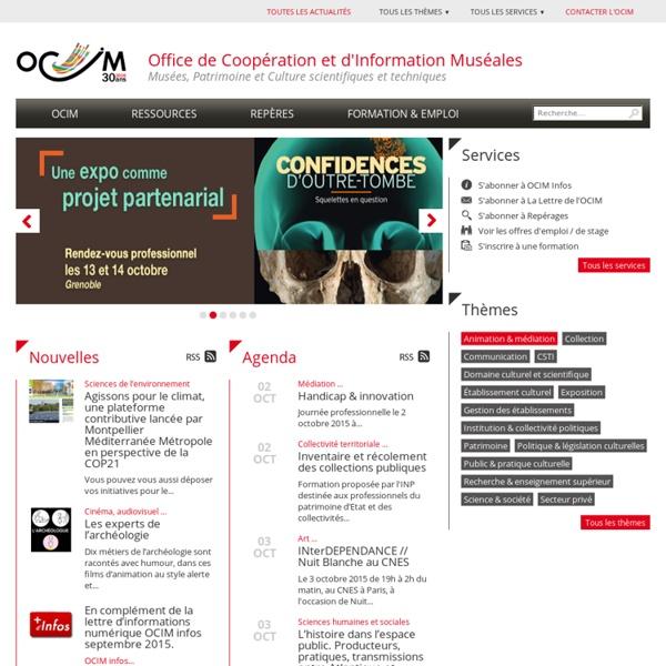 OCIM - Office de Coopération et d'Information Muséales