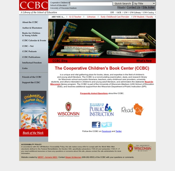 Cooperative Children's Book Center (CCBC)