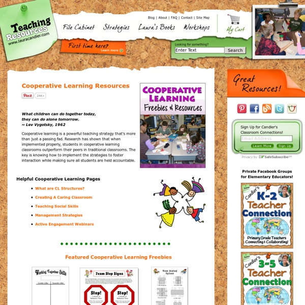 Laura Candler's Cooperative Learning Resources