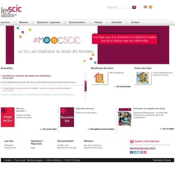 Les Scic - Sociétés coopératives d'intérêt collectif