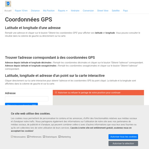 google maps coordonn es gps latitude et longitude pearltrees. Black Bedroom Furniture Sets. Home Design Ideas