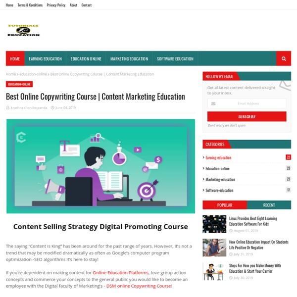 Best Online Copywriting Course