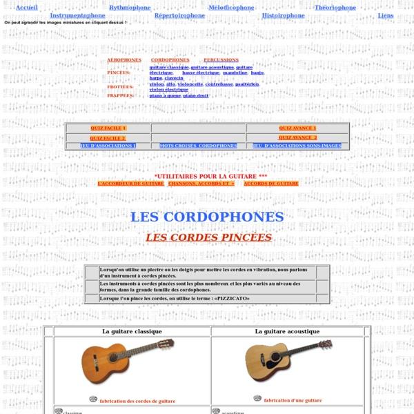Cordophones