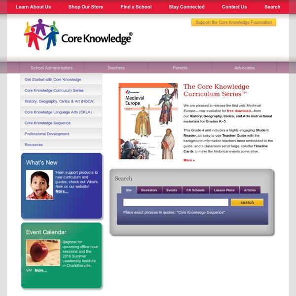 Core Knowledge® Foundation