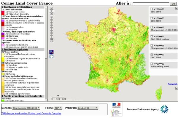 Corine Land Cover France