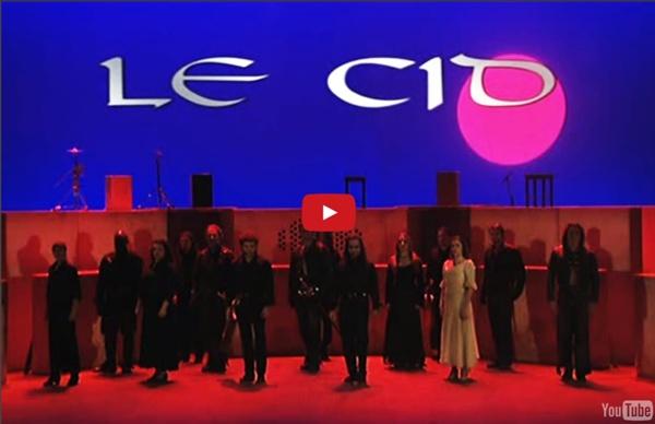 PIERRE CORNEILLE – Le Cid – pièce de théâtre filmée (mise en scène Thomas Le Douarec,1999)