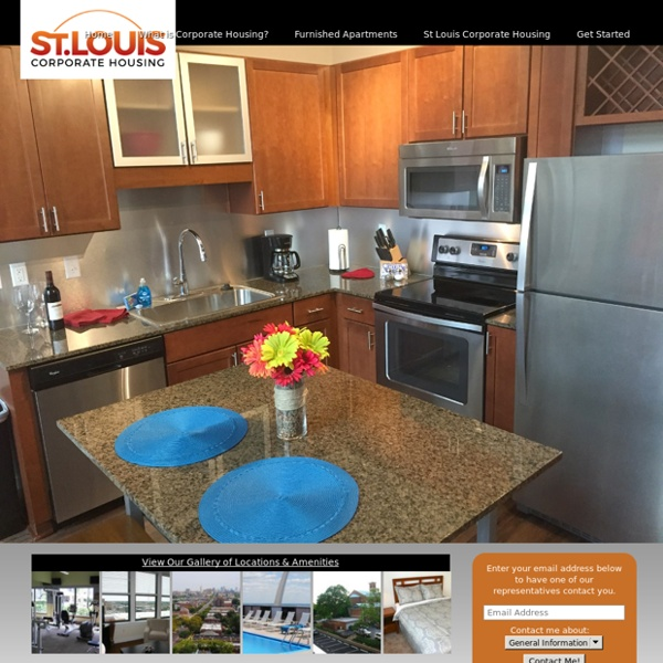 The Best Corporate Housing Apartments & Extended Stay Rentals in St Louis