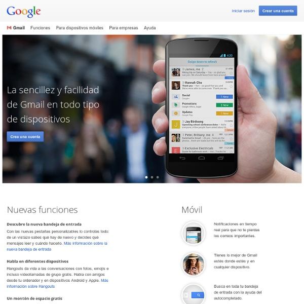 Gmail: el correo electrónico de Google
