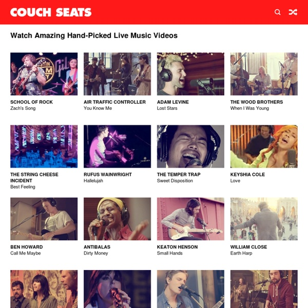 Watch Amazing Live Music Videos