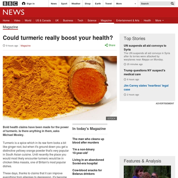 Could turmeric really boost your health?