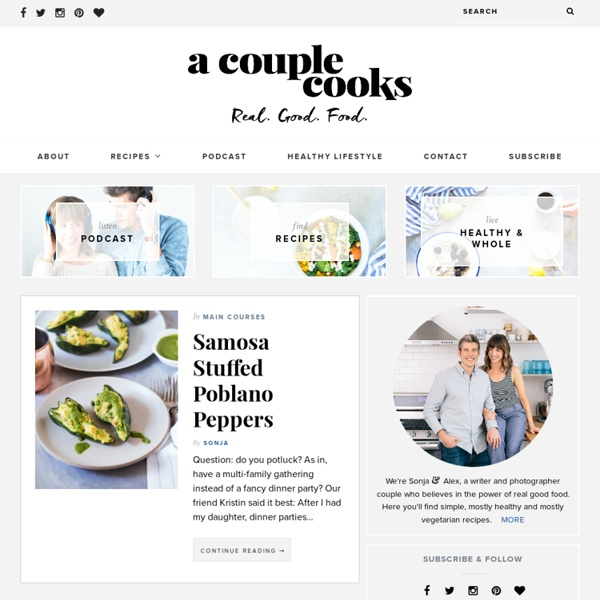 A Couple Cooks - Recipes for Healthy + Whole Living