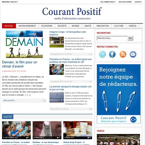 Courant Positif
