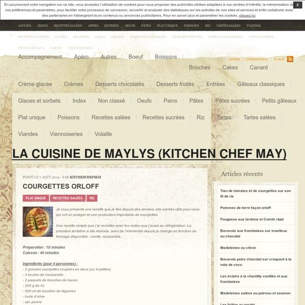 La cuisine de Maylys (Kitchen Chef May)