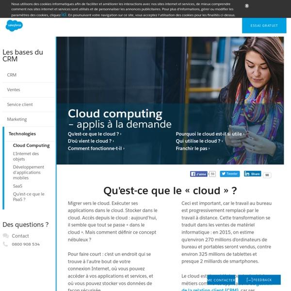 Cours complet : Cloud computing et Saas