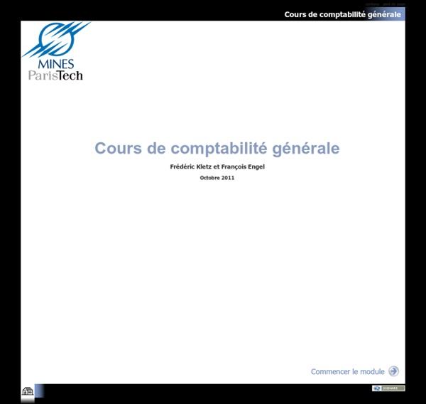 Cours de comptabilité générale - Cours de comptabilité générale