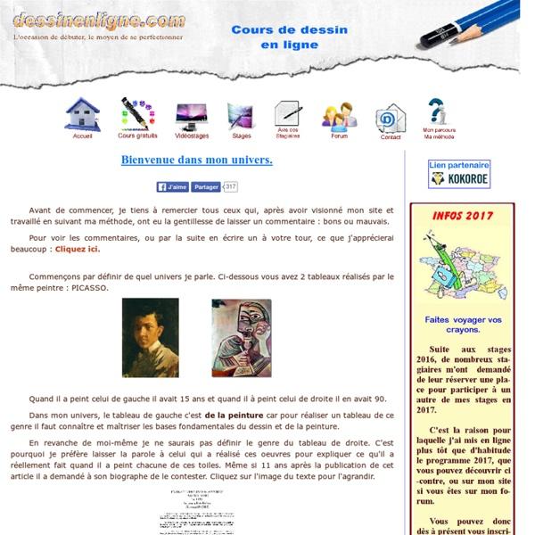 Awesome cours dessin gratuit en ligne cours dessin et for Cours de decoration interieur en ligne gratuit