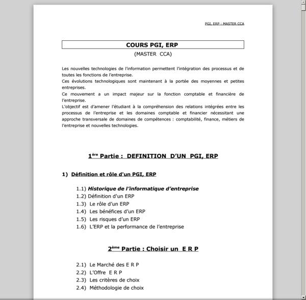 COURS PGI, ERP, MASTER CCA - cours_ERP_PGI_2010.pdf