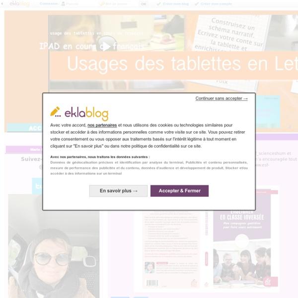 IPAD en cours de français - usage des tablettes en cours de français