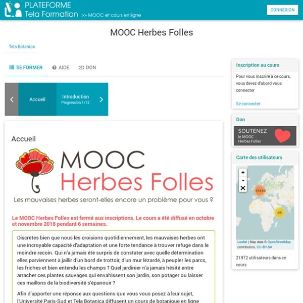 Cours: MOOC Herbes Folles