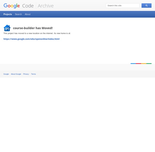 how to use google course builder