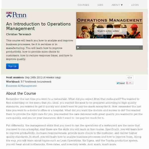 an introduction to operations management This first chapter is an introduction to operations management it provides both new and experienced students with some key and basic concepts that they will carry with.