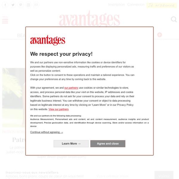 Couture : toutes les conseils et patrons de couture