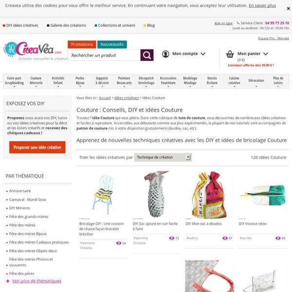 Idées DIY Couture : conseil de bricolage et exemple Couture