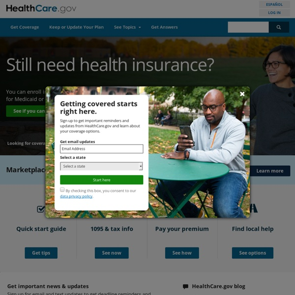 Health Insurance Marketplace, Affordable Care Act