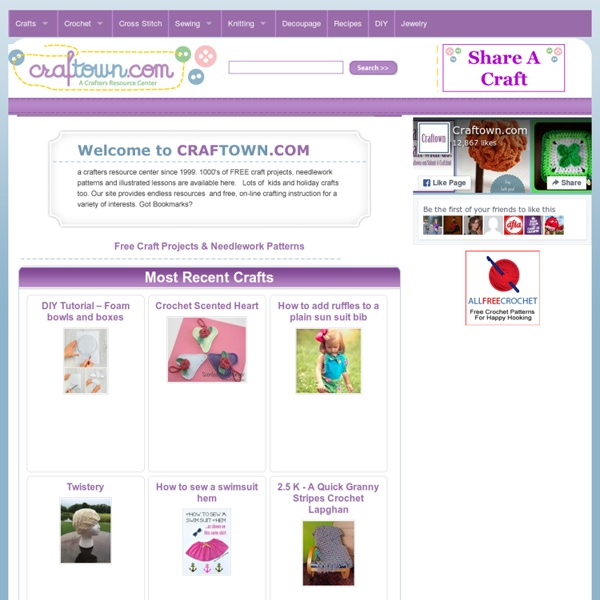 Crafts - Free Craft Patterns - Craft Ideas For Every Occasion!