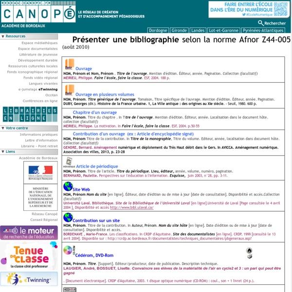 Canopé Bordeaux : CRDP Aquitaine