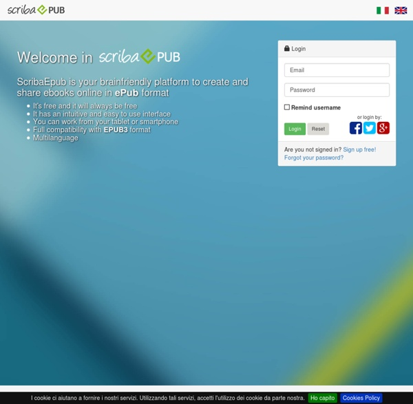 Crea il tuo ebook online